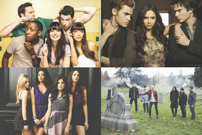 Mijn Favoriete Netflix Series - Once Upon A Time, Pretty Little Liars, New Girl & The Vampire Diaries